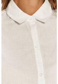 Biała koszula Haily's na co dzień, z klasycznym kołnierzykiem, casualowa