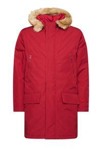 Levi's® Kurtka zimowa Woodside 27324-0003 Bordowy Regular Fit. Kolor: czerwony. Sezon: zima
