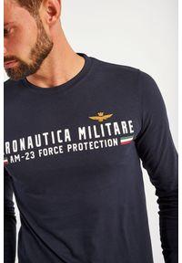 Aeronautica Militare - LONGSLEEVE AERONAUTICA MILITARE. Materiał: bawełna, guma. Długość rękawa: długi rękaw. Wzór: napisy, aplikacja #5