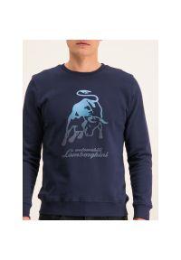 Bluza Lamborghini B7XUB7F8 30264. Kolor: niebieski