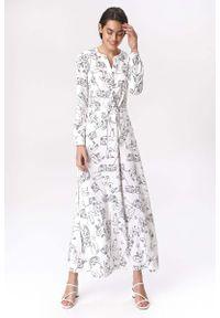 Sukienka Nife wizytowa, maxi, w kropki