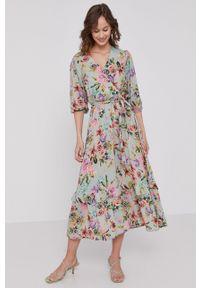 medicine - Medicine - Sukienka Floating florals. Okazja: na co dzień. Typ sukienki: proste. Styl: casual