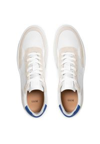 BOSS - Boss Sneakersy Ribeira 50454939 10236195 01 Biały. Kolor: biały