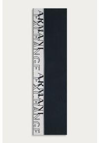 Niebieski szalik Armani Exchange