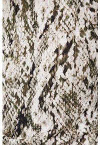 DKNY - Dkny - Bluzka. Typ kołnierza: golf. Kolor: zielony. Materiał: dzianina