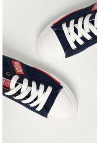 Big-Star - Big Star - Tenisówki. Nosek buta: okrągły. Zapięcie: sznurówki. Kolor: niebieski. Materiał: guma