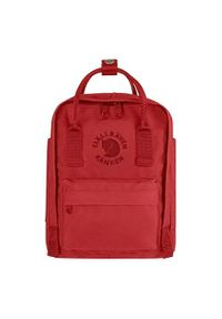 Czerwony plecak Fjällräven casualowy