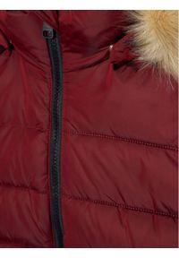 Reima Kurtka puchowa Lunta 531416 Bordowy Regular Fit. Kolor: czerwony. Materiał: puch