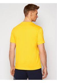Champion T-Shirt Crewneck 214405 Żółty Comfort Fit. Kolor: żółty