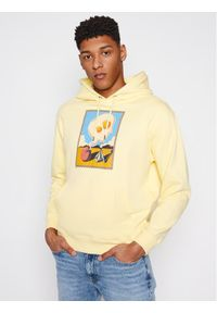 Volcom Bluza Fa Max Loeffler A4112104 Żółty Loose Fit. Kolor: żółty