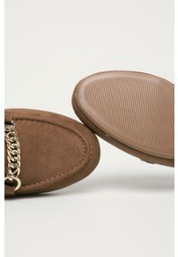 Call It Spring - Mokasyny NORAH. Nosek buta: okrągły. Kolor: brązowy. Materiał: guma