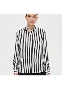 Biała koszula Cropp w paski