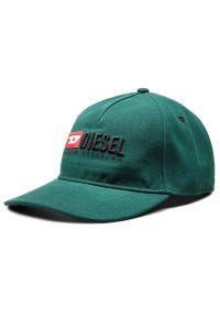 Zielona czapka z daszkiem Diesel