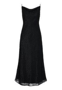 Czarna sukienka wieczorowa Trussardi Jeans