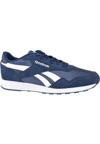 Niebieskie sneakersy Reebok z cholewką