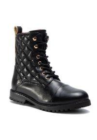 Czarne buty zimowe Sergio Bardi Young