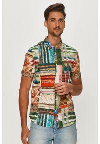 Wielokolorowa koszula Desigual casualowa, z klasycznym kołnierzykiem