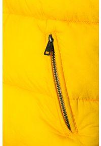 Żółta kurtka Guess Jeans na co dzień, casualowa, z kapturem