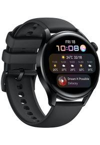 HUAWEI - Huawei smartwatch WATCH 3. Rodzaj zegarka: smartwatch. Kolor: czarny. Styl: sportowy