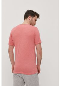 Pomarańczowy t-shirt Brave Soul na co dzień, casualowy, gładki