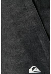 Quiksilver - Spodnie. Okazja: na co dzień. Kolor: szary. Styl: casual