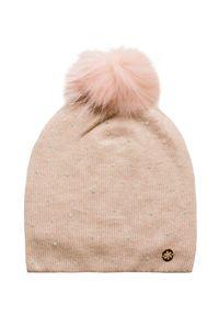 Różowa czapka Granadilla z aplikacjami