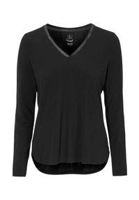 Triumph Góra od piżamy Climate Control Czarny female czarny 44. Kolor: czarny. Materiał: lyocell, bawełna, wiskoza, materiał, włókno. Długość: krótkie