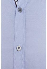 JOOP! - Joop! - Koszula. Typ kołnierza: button down. Kolor: niebieski. Materiał: tkanina