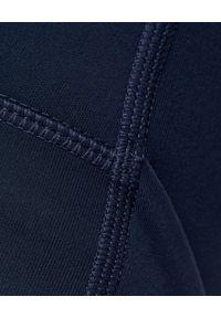 GIRLFRIEND COLLECTIVE - Granatowe leginsy Long Midnight. Stan: podwyższony. Kolor: niebieski. Materiał: tkanina. Długość: długie