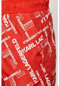 Czerwone kąpielówki Karl Lagerfeld