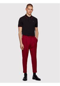 BOSS - Boss Polo Parlay 101 50445486 Czarny Regular Fit. Typ kołnierza: polo. Kolor: czarny