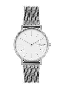 Skagen - Zegarek SKW2785. Kolor: srebrny. Materiał: materiał