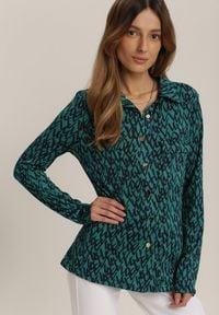 Renee - Zielona Koszula Piliana. Kolor: zielony