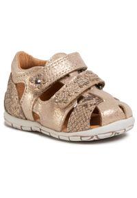 Złote sandały Froddo na lato