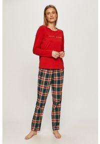 Wielokolorowa piżama TOMMY HILFIGER długa