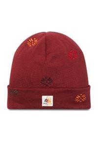Maloja - Czapka MALOJA - Bauorcham. 30606-1-8327 Red Monk. Kolor: czerwony. Materiał: materiał, bawełna