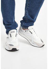 Sneakersy Versace Jeans Couture z aplikacjami, na sznurówki