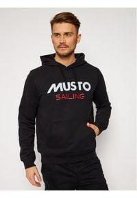 Musto Bluza 82019 Czarny Regular Fit. Kolor: czarny
