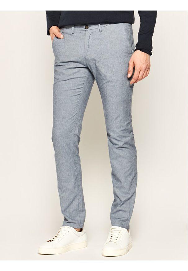 Baldessarini Spodnie materiałowe Jorck 16836/000/2297 Niebieski Slim Fit. Kolor: niebieski. Materiał: elastan, bawełna, materiał