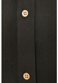 Czarna koszula Tailored & Originals button down, casualowa, na co dzień, długa