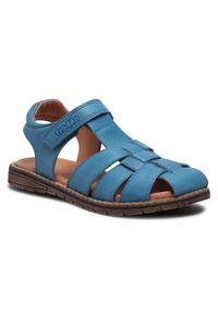 Froddo - Sandały FRODDO - G3150192-1 S Jeans. Kolor: niebieski. Materiał: skóra. Sezon: lato. Styl: klasyczny