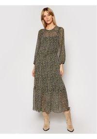 DKNY Sukienka codzienna P1BB7FID Kolorowy Regular Fit. Okazja: na co dzień. Wzór: kolorowy. Typ sukienki: proste. Styl: casual
