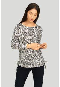 Greenpoint - Sweter z miękkiej dzianiny z nadrukiem. Materiał: dzianina. Wzór: nadruk