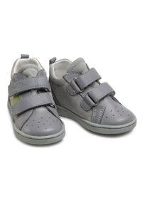 RenBut - Sneakersy RENBUT - 13-1429 Popiel Zielony. Kolor: szary. Materiał: skóra, zamsz. Szerokość cholewki: normalna