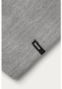 Szara czapka Answear Lab wakacyjna