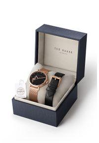 Różowy zegarek Ted Baker