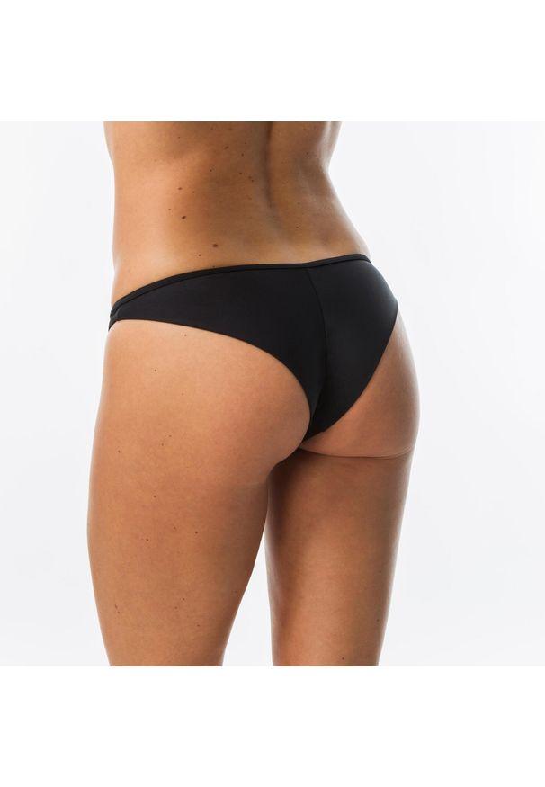 OLAIAN - Dół Kostiumu Kąpielowego Tanga Lulu Damski. Kolor: czarny. Materiał: poliester, elastan, poliamid, materiał