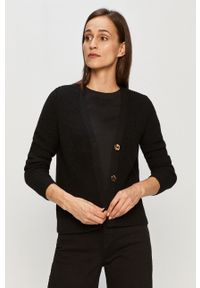 Czarny sweter rozpinany only