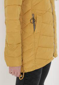 Żółta kurtka przejściowa Born2be #6