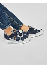 Niebieskie buty sportowe Colmar